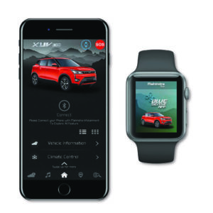BLUESENSE APP WITH SMART WATCH & PHONE CONNECTIVITY