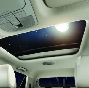 ELECTRIC SUNROOF (Class Leading)